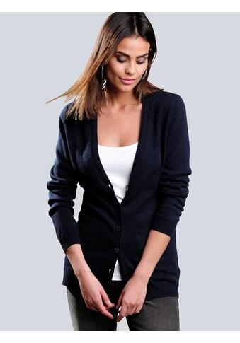 Alba Moda Strickjacke aus kuschelweichem Kaschmir kaufen