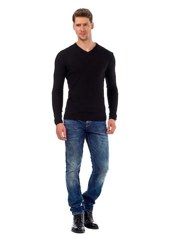 Cipo & Baxx V - Ausschnitt - Pullover kaufen