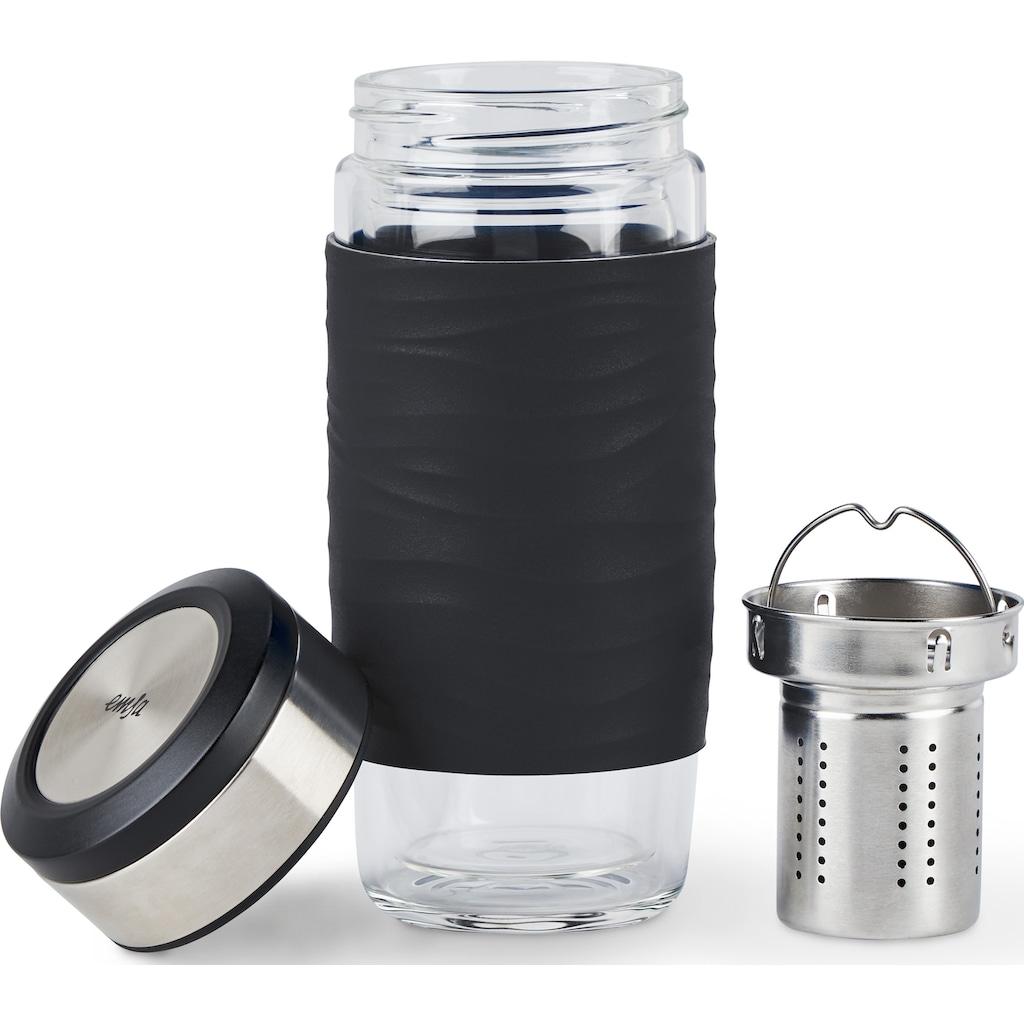Emsa Teeglas »Tea Mug«, (Set, 3 tlg.), 400 ml, 100% dicht, 3-teilig