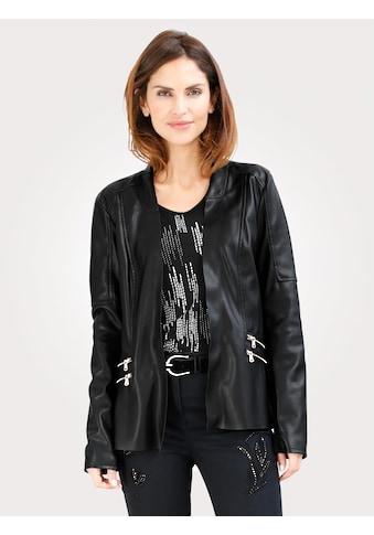 Mona Legerjacke in Leder-Optik kaufen