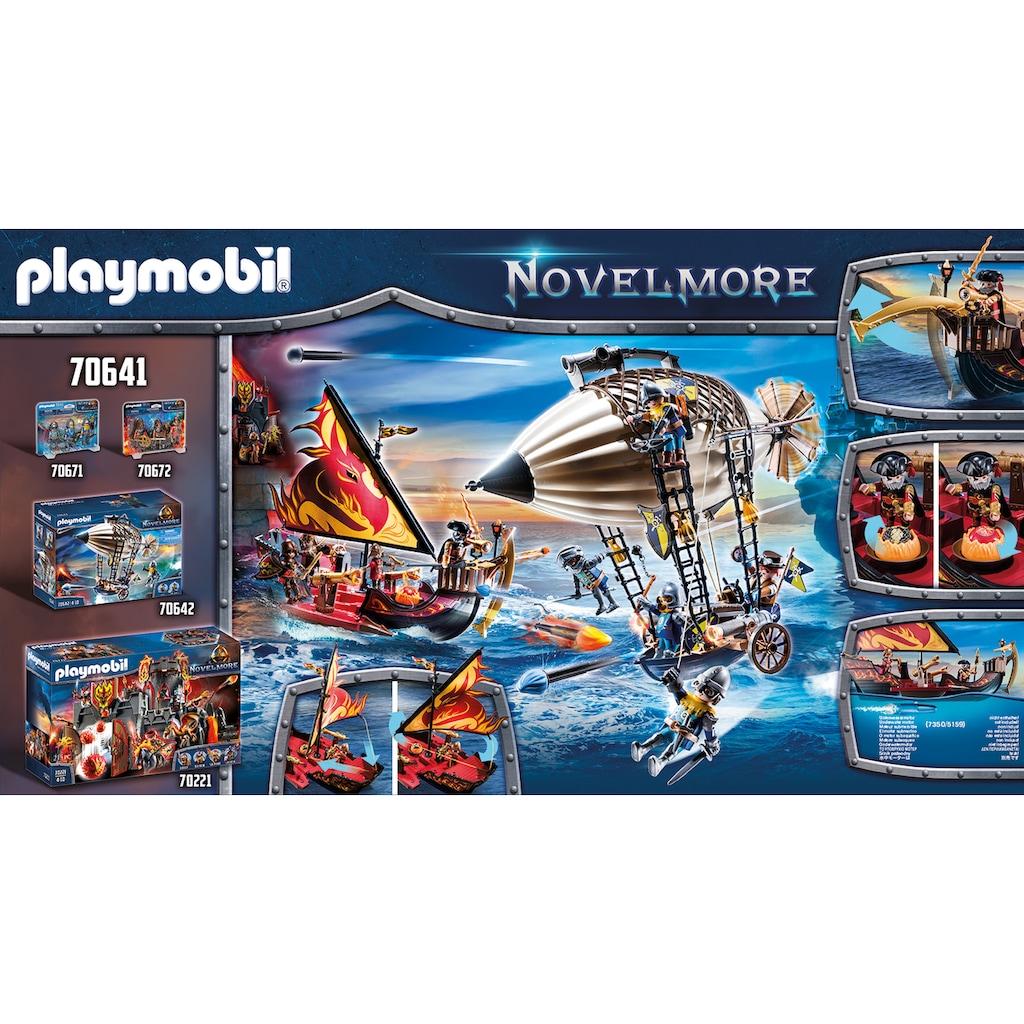 Playmobil® Konstruktions-Spielset »Burnham Raiders Feuerschiff (70641), Novelmore«, (55 St.), Made in Germany