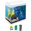 TETRA Aquarium »AquaArt LED Discovery Line«, 30 Liter, BxTxH: 39,5x28x43 cm, weiß