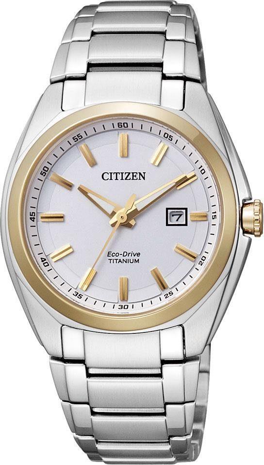 Citizen Titanuhr Super Titanium EW2214-52A | Uhren > Titanuhren | Citizen