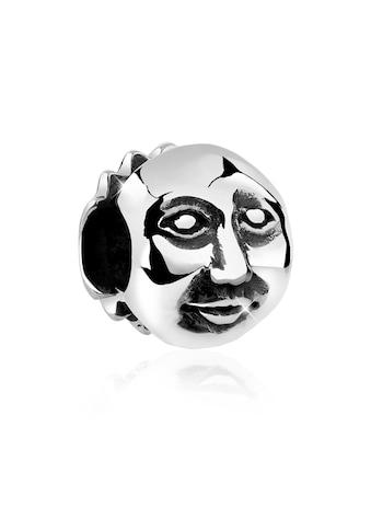 Nenalina Charm - Einhänger »Mann im Mond Bead Anhänger Halloween 925 Silber« kaufen