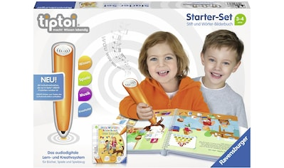 """Ravensburger Spiel, """"Starter - Set tipoi® »Mein Wörter - Bilderbuch: Unser Zuhause«"""" kaufen"""