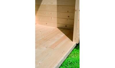 KARIBU Fußboden für Gartenhäuser , BxT: 209x152 cm kaufen