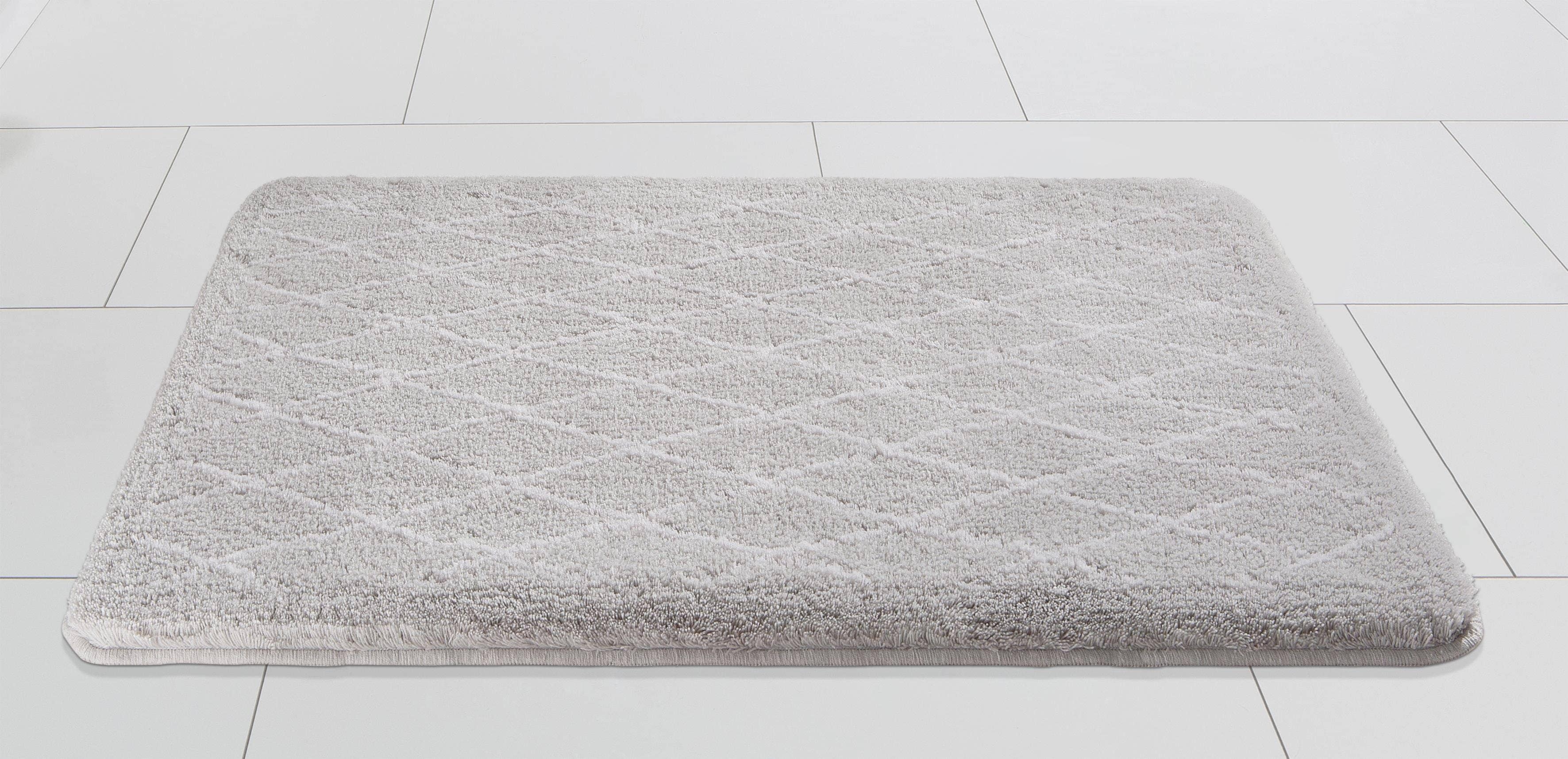 Badematte Sia Kleine Wolke EXKLUSIV Höhe 20 mm rutschhemmend beschichtet  fußbodenheizungsgeeignet