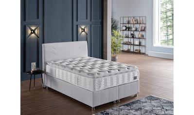 İSTİKBAL Taschenfederkernmatratze »New Comfort Sleep«, 392 Federn, (1 St.), unvergleichlicher Schlafkomfort, mit aufgenähtem Komfortschaumtopper kaufen