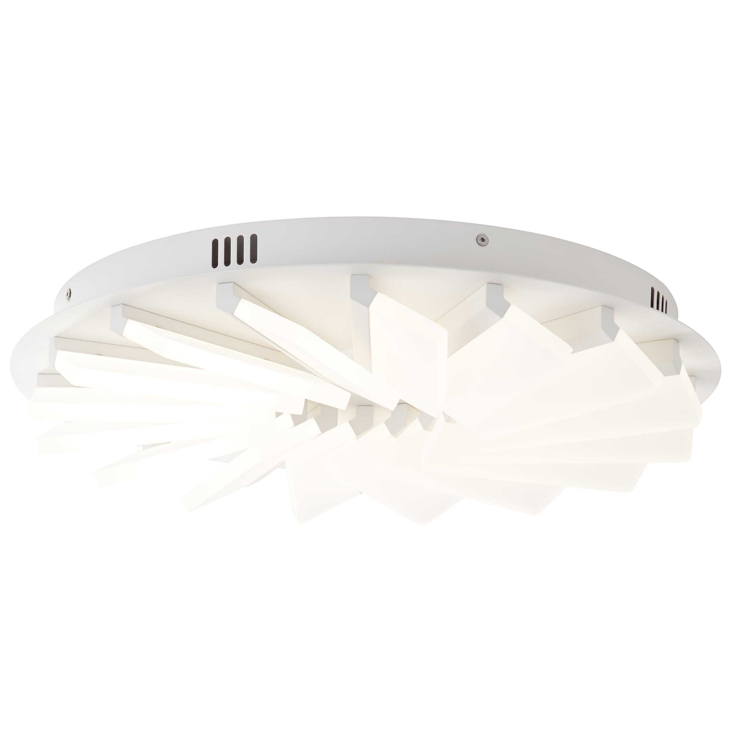 AEG Caryl LED Deckenleuchte 48cm pearl nickel/weiß