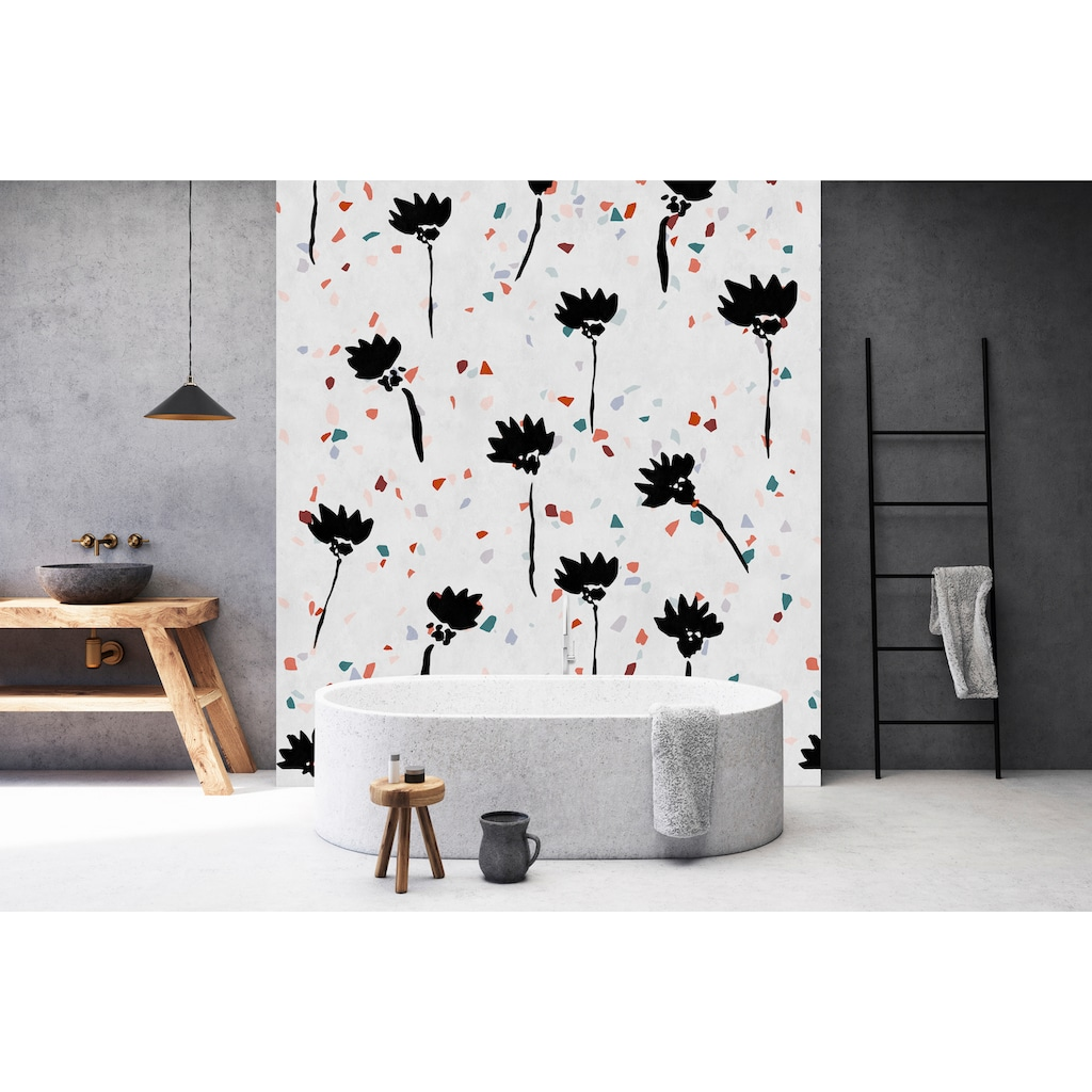living walls Fototapete »Walls by Patel Terrazzo 2«