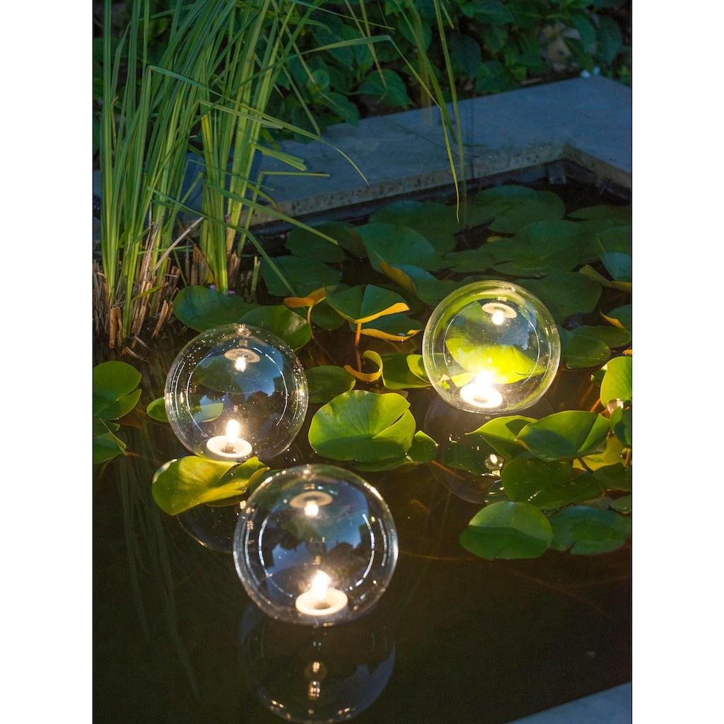 UBBINK Batterie Teichbeleuchtung »MultiBright Float 3 LED«, 3er-Set