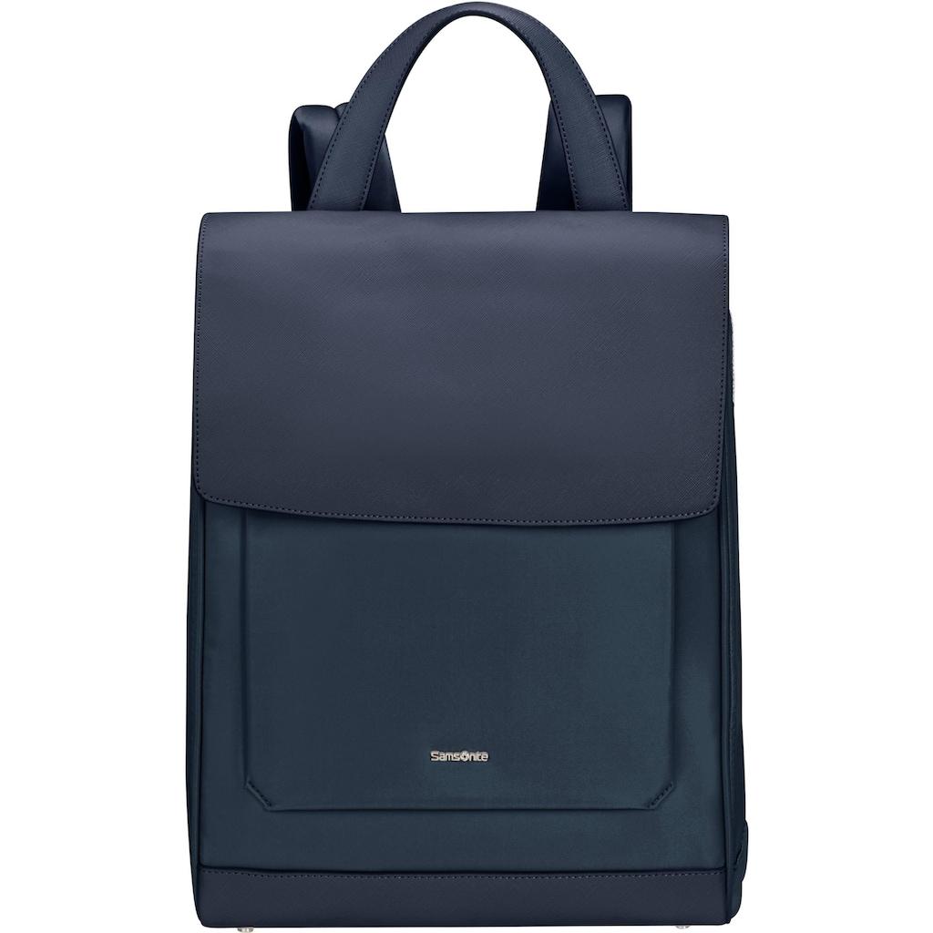 Samsonite Laptoprucksack »Zalia 2.0 Flap, midnight blue«