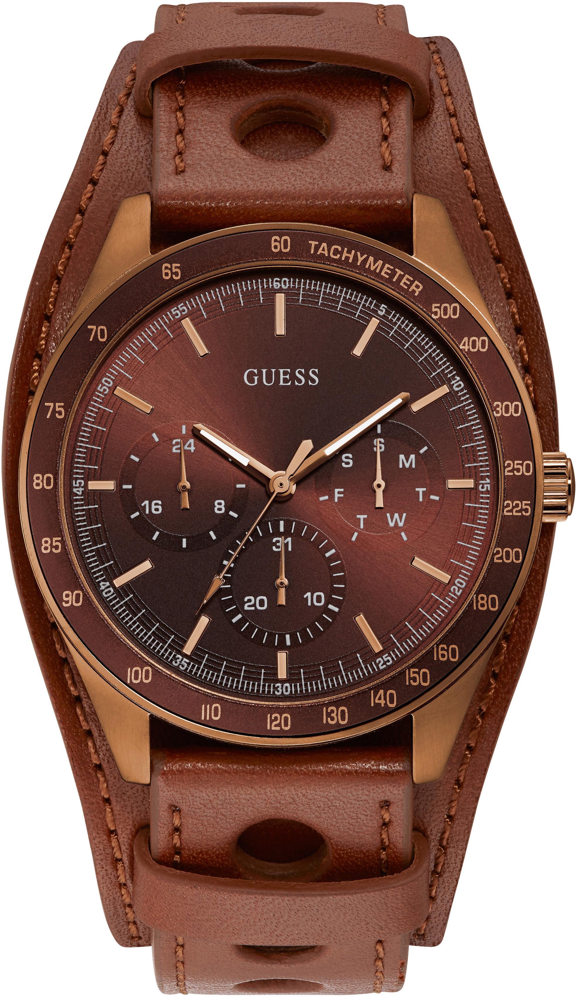 Guess Multifunktionsuhr MONTANA W1100G3   Uhren   Braun   Guess