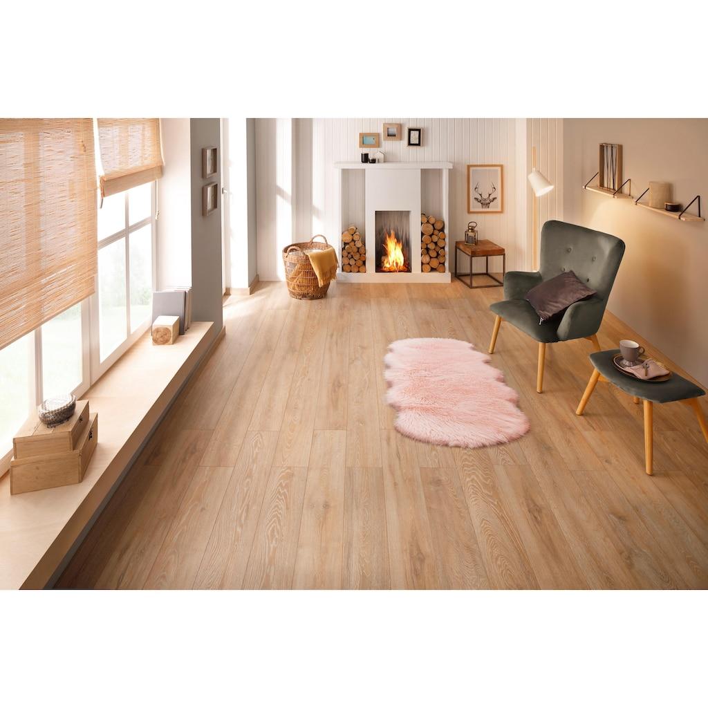 Bruno Banani Fellteppich »Jona«, fellförmig, 65 mm Höhe, Kunstfell, sehr weicher Flor, Wohnzimmer