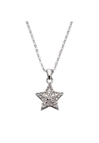 CELESTA Anhänger mit Kette »925/ -  Silber 1x Diamant« kaufen