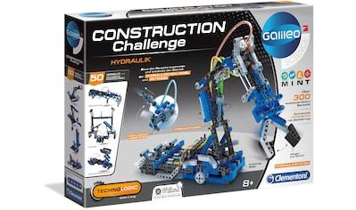 Clementoni® Modellbausatz »Galileo Construction Challenge Hydraulik« kaufen
