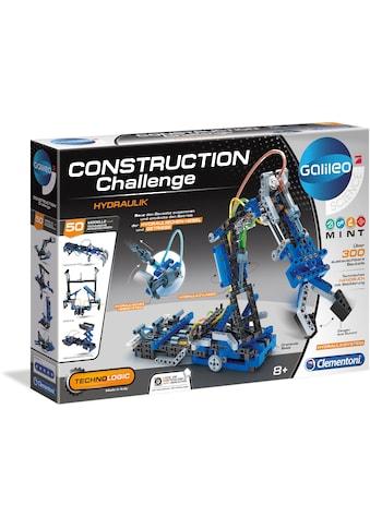 Clementoni® Modellbausatz »Galileo - Construction Challenge - Hydraulik« kaufen