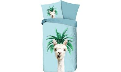 good morning Kinderbettwäsche »Pallama«, mit Lama kaufen