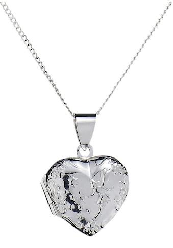 Firetti Kette mit Anhänger »Herz - Medaillon« kaufen