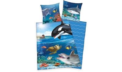 Kinderbettwäsche »Animal Club«, mit tollem Meerestiere-Motiv kaufen