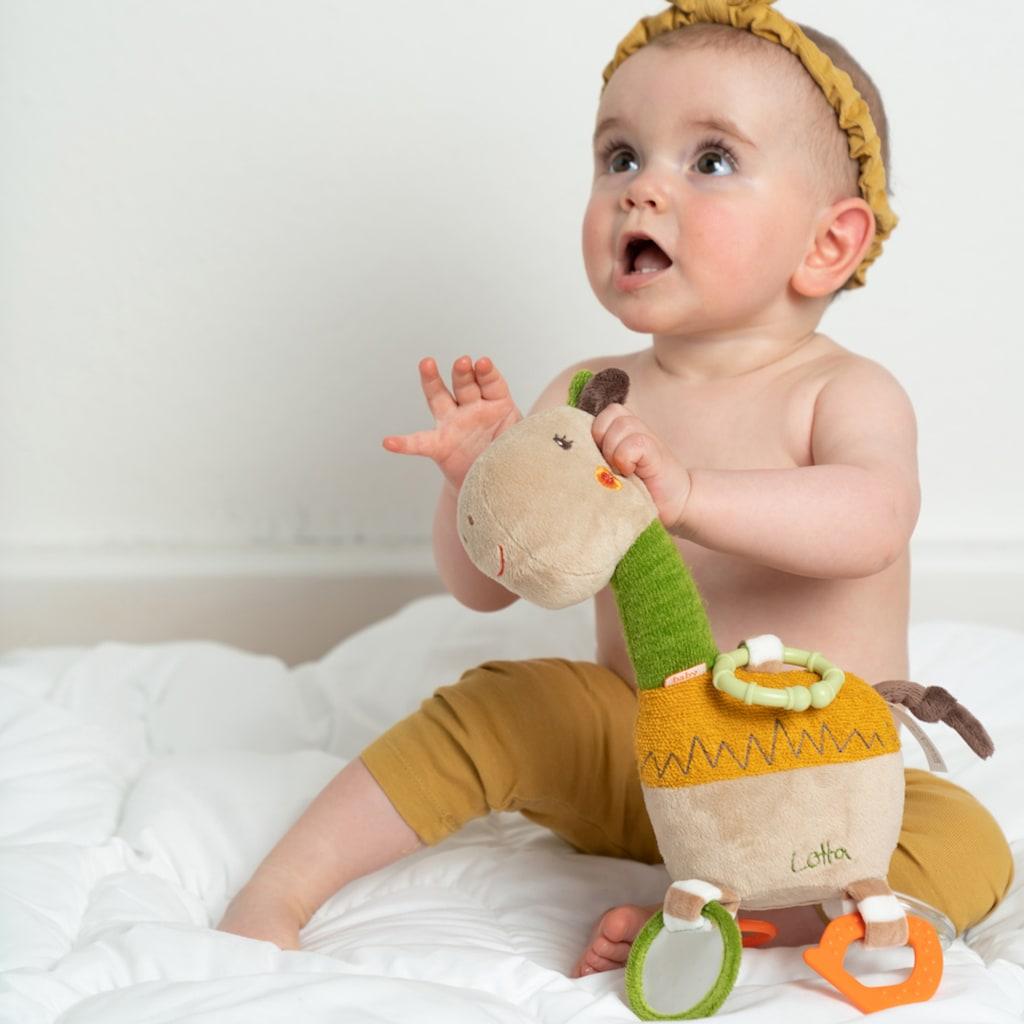 Fehn Greifspielzeug »Loopy & Lotta Activity-Giraffe«, mit Ring