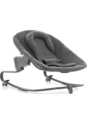 Hauck Hochstuhlaufsatz »Alpha Bouncer Premium, Charcoal« bis, 9 kg, für Neugeborene mit Wippgestell; für Hochstuhl Alpha+ und Alpha+ Select kaufen