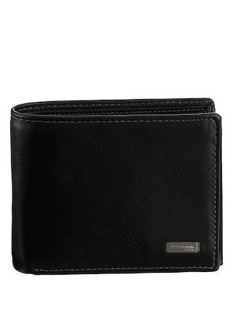 GreenLand Nature Geldbörse »Black Nappa« kaufen