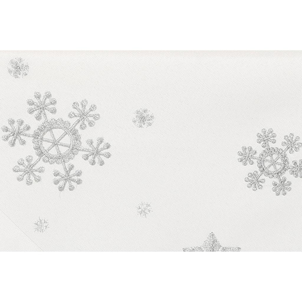Tischläufer, »Schneeflocke«, Dreams