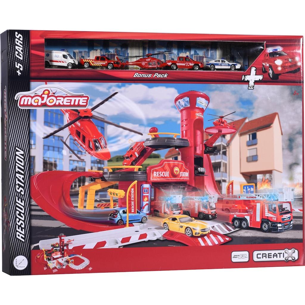 majORETTE Spiel-Feuerwehrwache »Creatix Rescue Station«