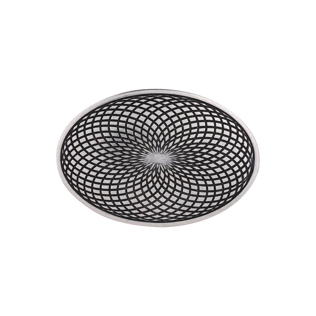 RETTUNGSRING by showroom 019° Gürtelschnalle »Mantra«, in floralem Design