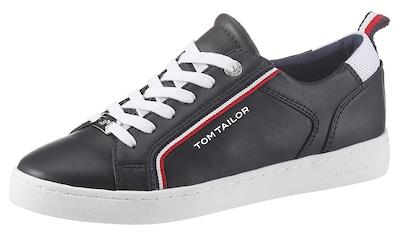 TOM TAILOR Sneaker, mit Textilbesätzen kaufen
