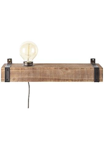 Brilliant Leuchten Wandleuchte »Woodhill«, E27, 1 St., Wandlampe mit Zuleitung und... kaufen