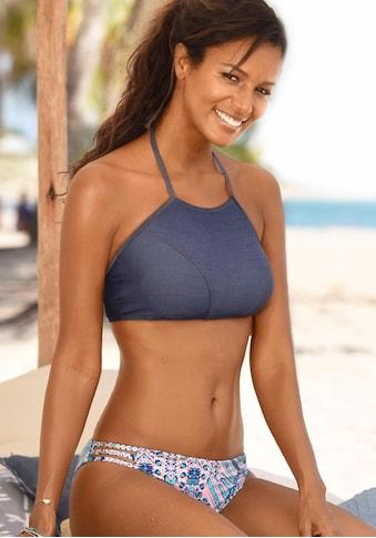 Sunseeker Bustier-Bikini-Top »Jeans«, zum Binden im Nacken kaufen