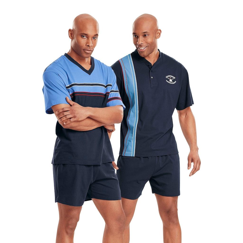 le jogger® Shorty, (2 Stück), kurze Pyjamas