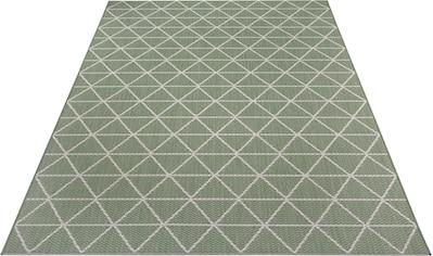 my home Teppich »Layne«, rechteckig, 3 mm Höhe, In- und Outdoor geeignet, Wohnzimmer kaufen