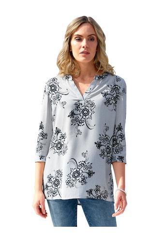 Amy Vermont Tunika, mit floralem Muster allover kaufen