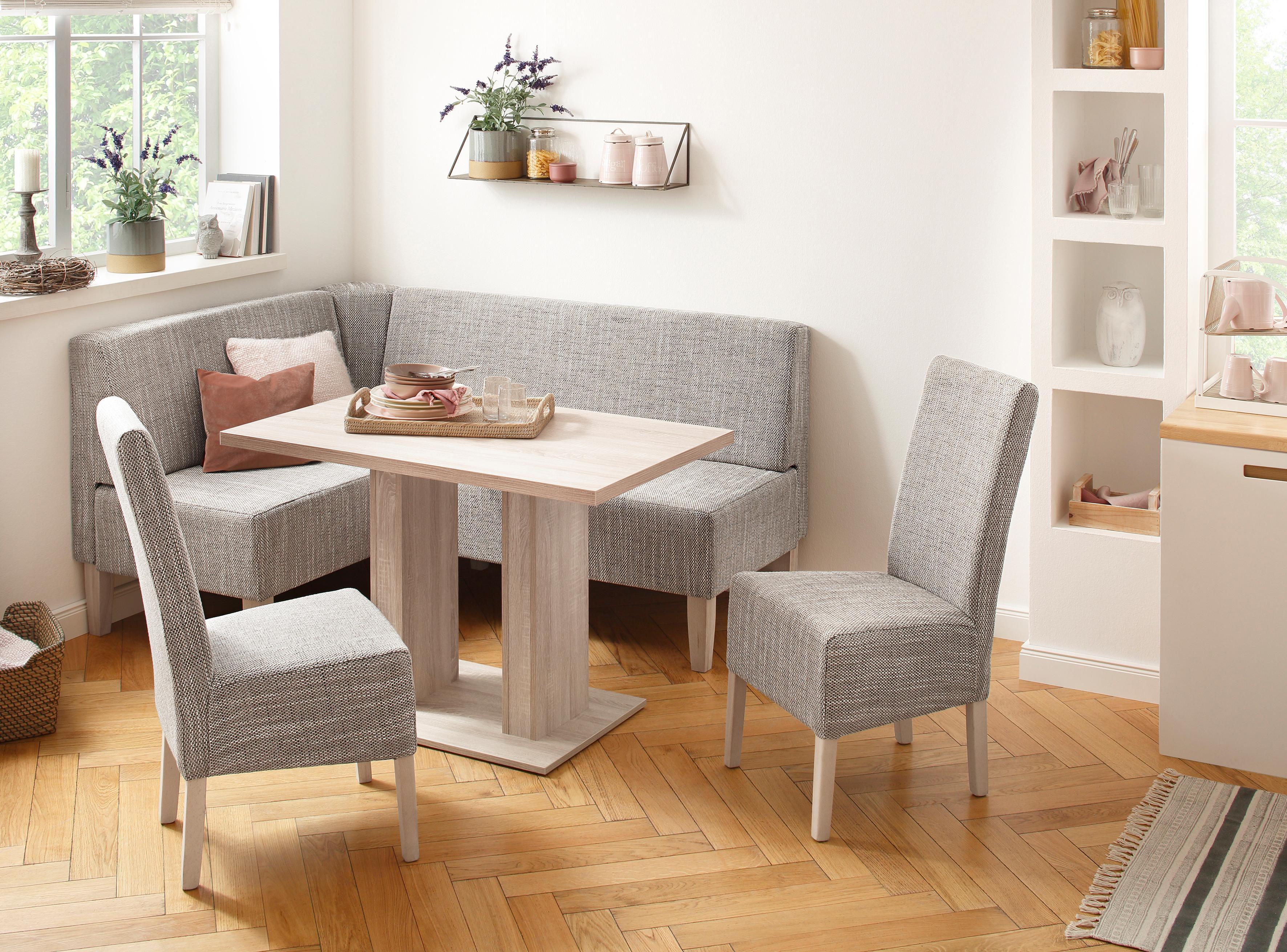 Home affaire Eckbankgruppe Hellen (Set, 4-tlg) | Küche und Esszimmer > Essgruppen > Eckbankgruppen | home affaire