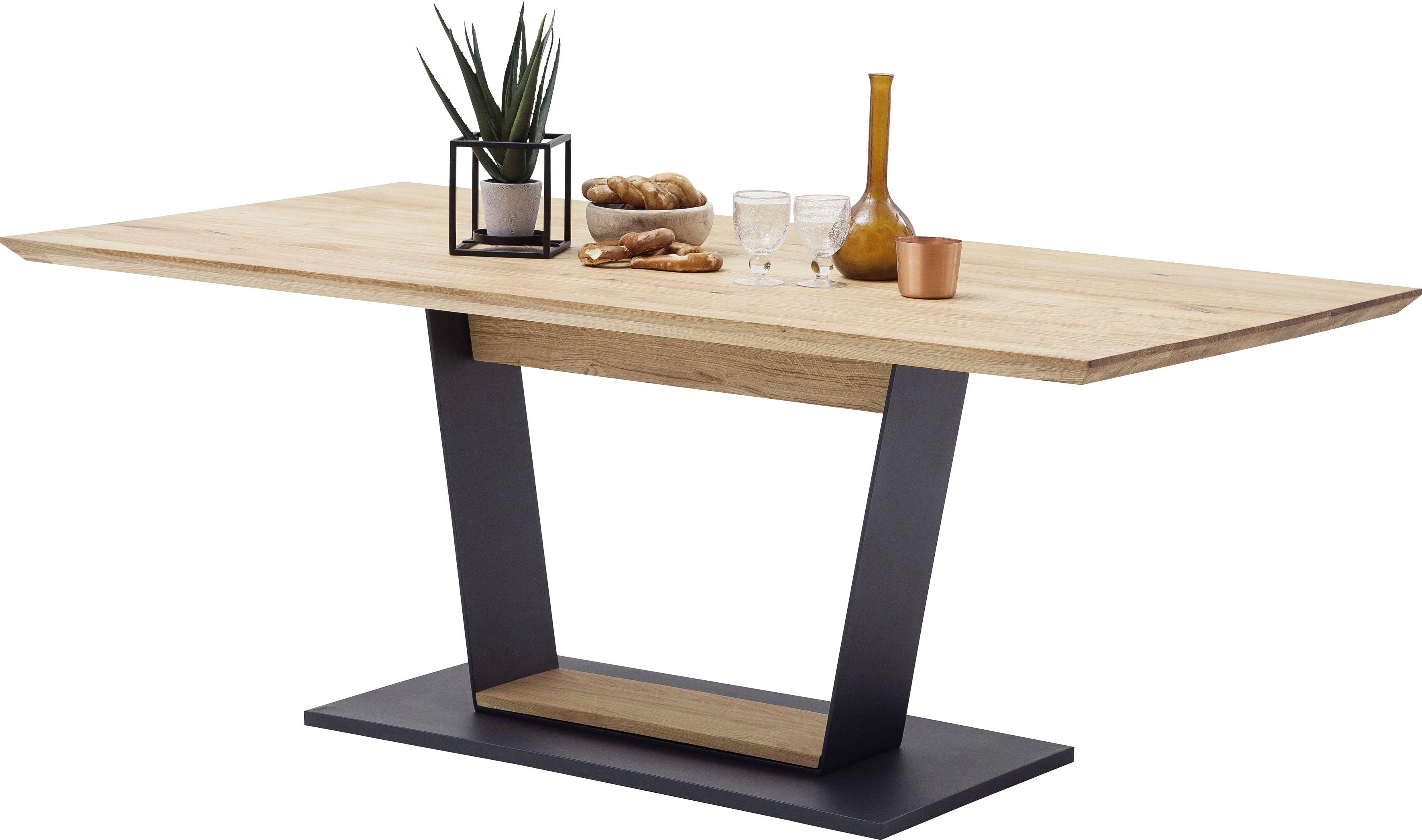 MCA furniture Esstisch Malambo, Massivholz braun Esstische rechteckig Tische