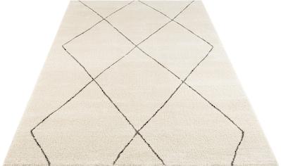 ELLE Decor Teppich »Massy«, rechteckig, 14 mm Höhe, Kurzflor, leichte Reliefstruktur,... kaufen