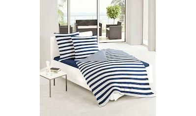 TRAUMSCHLAF Bettwäsche »Albklassik Stripe«, edle bügelleichte Mako-Satin Qualität kaufen
