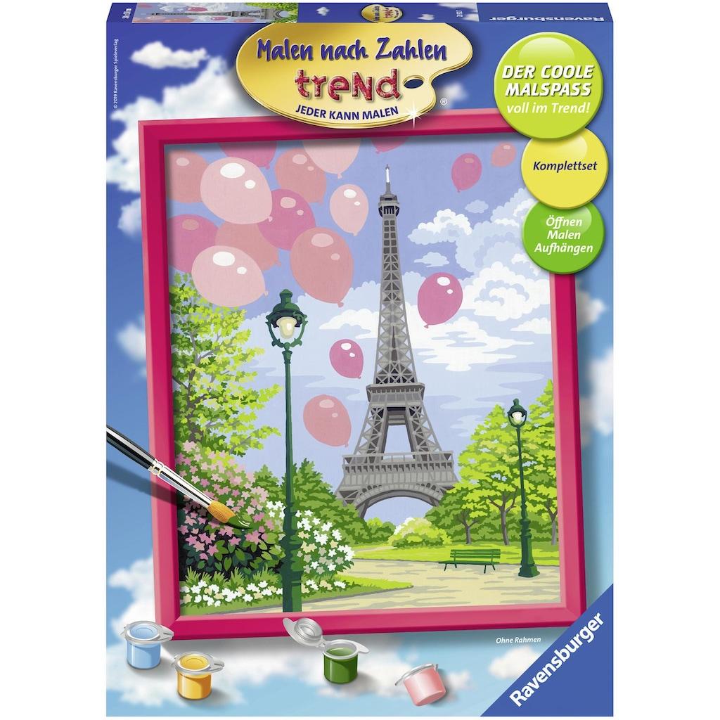 Ravensburger Malen nach Zahlen »Frühling in Paris«, Made in Europe, FSC® - schützt Wald - weltweit