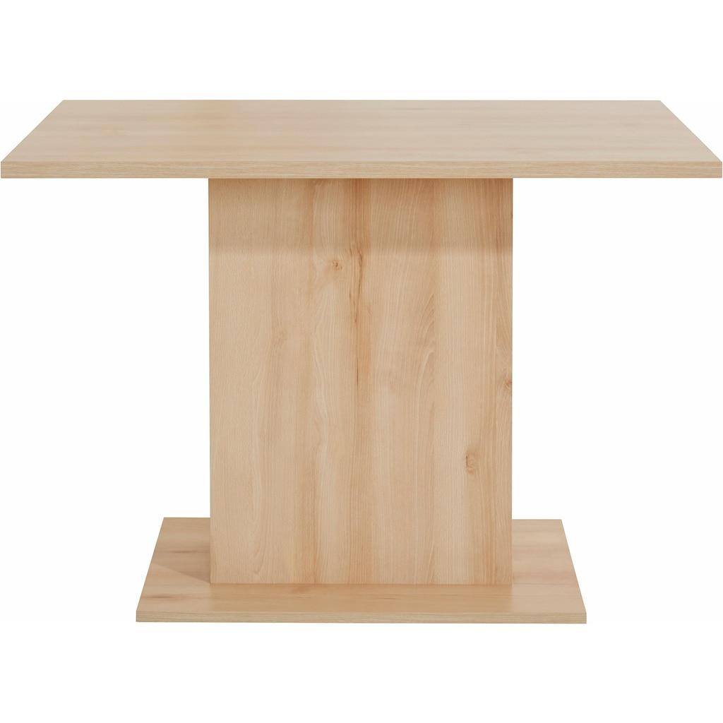 my home Säulen-Esstisch, Breite 110 cm