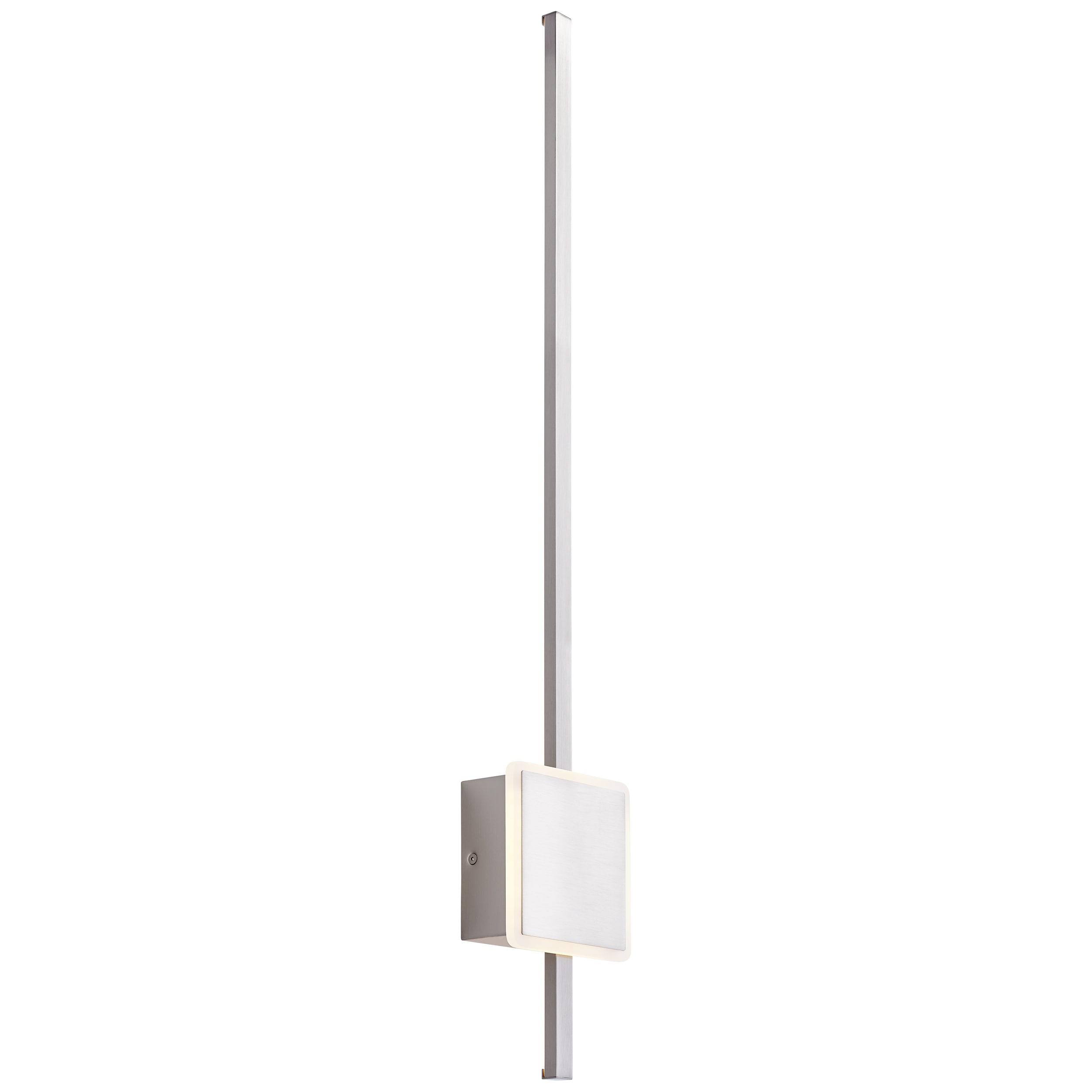 AEG Inessa LED Wandleuchte 82cm pearl nickel