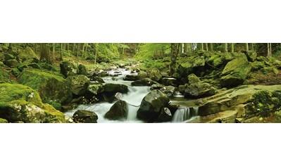 PAPERMOON Fototapete »Soft Water Stream Panorama«, Vlies, 2 Bahnen, 350 x 100 cm kaufen