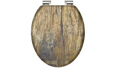 Schütte WC-Sitz »Solid Wood«, mit Absenkautomatik kaufen