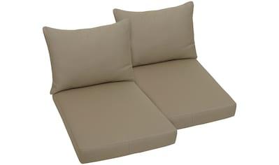GO - DE Sitzkissen , (2er Set) für Palettenmöbel, (B/T): ca. 60x80 cm kaufen