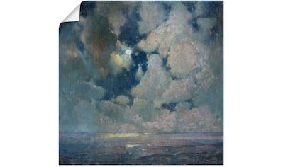 Artland Wandbild »Das Meer bei Sonnenaufgang.«, Sonnenaufgang & -untergang, (1 St.),... kaufen