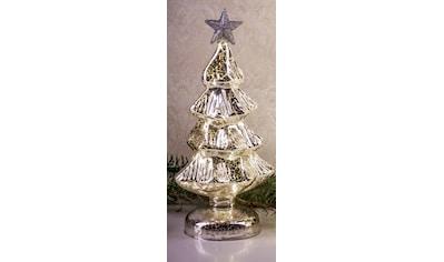 HGD Holz-Glas-Design Beleuchteter Weihnachtsbaum aus Mercury-Glas kaufen