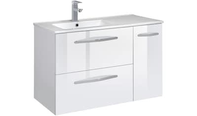 CYGNUS BATH Waschtisch »Basilea«, Breite 85 cm, Waschmulde links kaufen