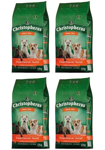 Christopherus Trockenfutter »Adult Mini«, (4), 4 Beutel á 1,5 kg kaufen